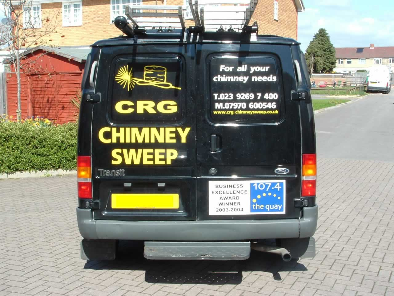 CRG's New Van Back